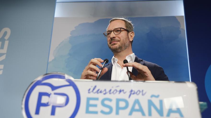 Javier Maroto en un mitin del Partido Popular