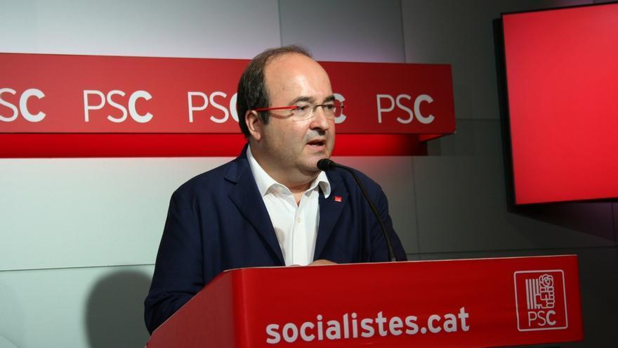 """Iceta (PSC) advierte de que el 1-O es un referéndum """"sólo para independentistas"""""""