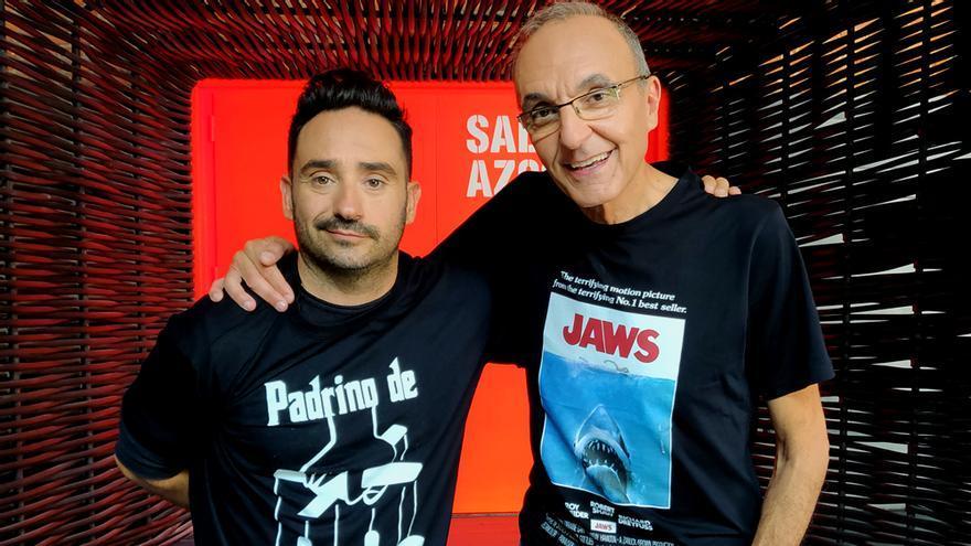 JA Bayona y Gerardo Sánchez en 'Días de cine'
