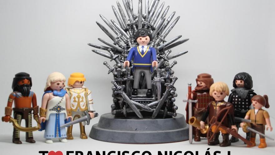 I love Francisco Nicolás I