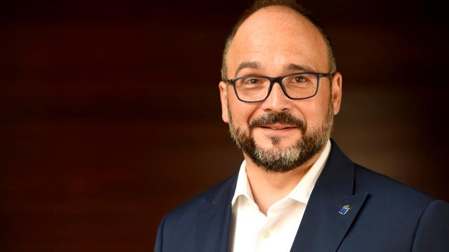 José Antonio Valbuena, consejero de Transición Ecológica, Lucha contra el Cambio Climático y Planificación Territorial del Gobierno de Canarias.