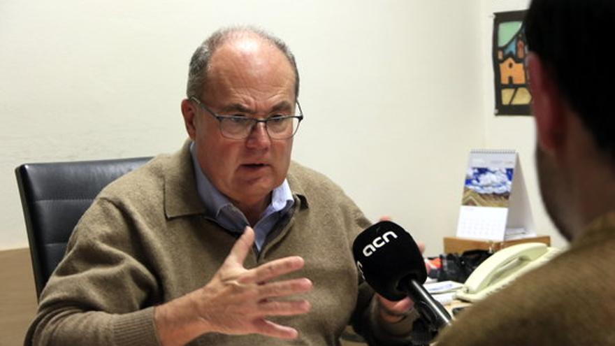 El epidemiólogo Antoni Trilla, en una imagen del pasado febrero.