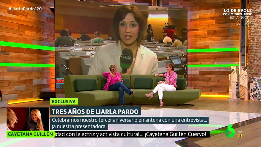 Cristina Pardo y Anabel Alonso en laSexta