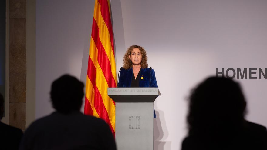 Archivo - La delegada del Govern en Madrid, Ester Capella, en una foto de archivo durante su mandato como consellera de Justicia de la Generalitat.