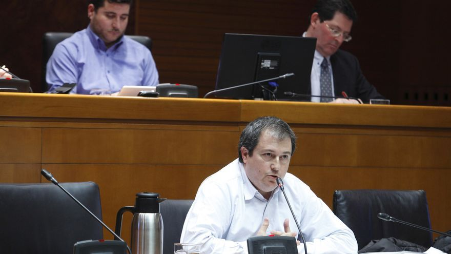 El director general de Economía, Luis Lanaspa.