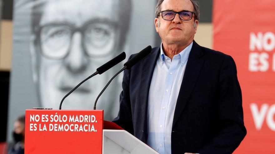 """Gabilondo asegura que """"no teme"""" un sorpasso de Más Madrid el 4-M"""