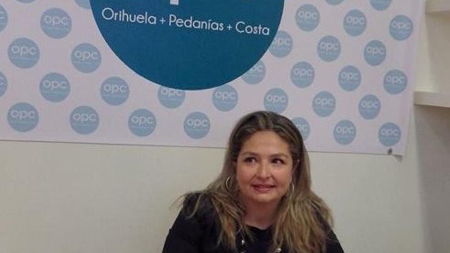 La exedil del PP en Orihuela Pepa Ferrando