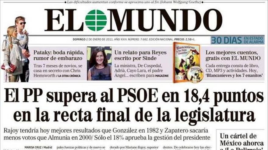 De las portadas del día (02/01/2011) #7