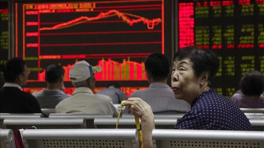 La Bolsa de Shanghái abre con una caída del 1,33 por ciento