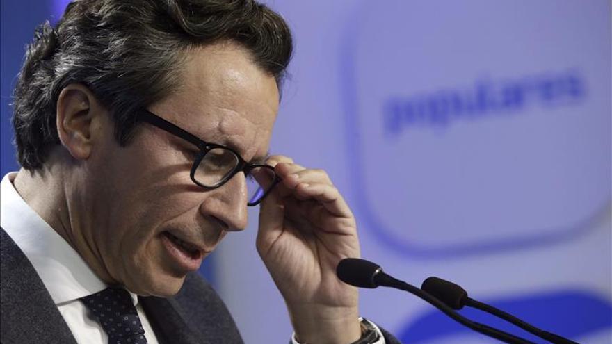 Floriano asegura que el PP tiene posibilidades muy claras de ser la rimera fuerza en Andalucía
