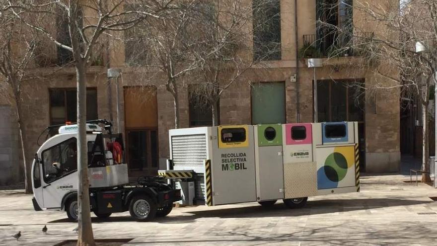 Recogida de residuos móvil en Palma de Mallorca