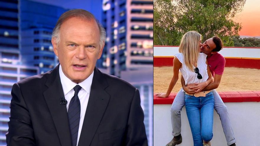 Telecinco lleva la relación de Enrique Ponce y Ana Soria también a sus informativos, de la mano de Piqueras