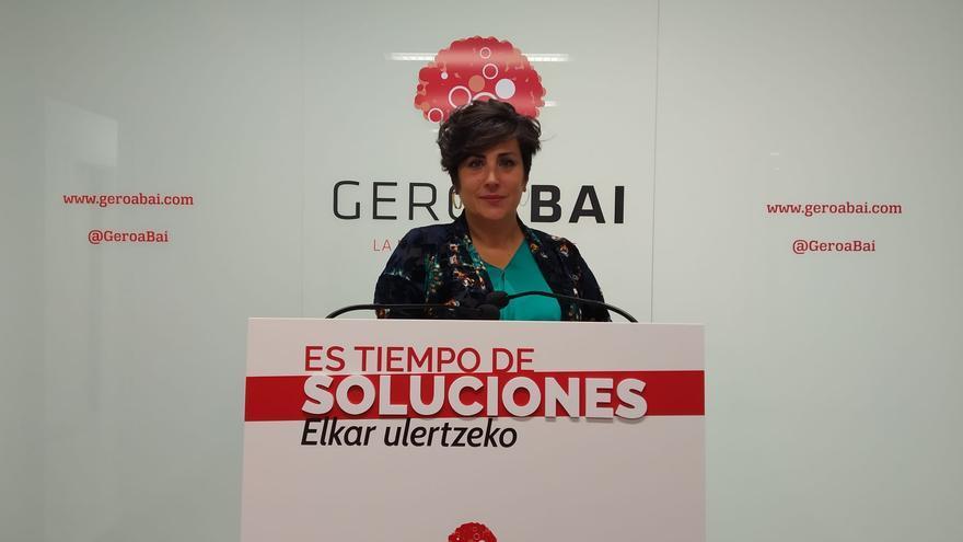 María Solana, de Geroa Bai: