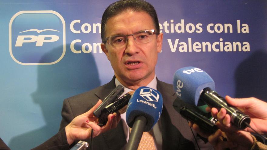 """PP valenciano tomará las medidas """"convenientes"""" sobre el exvicepresidente de la Diputación de Castellón imputado"""