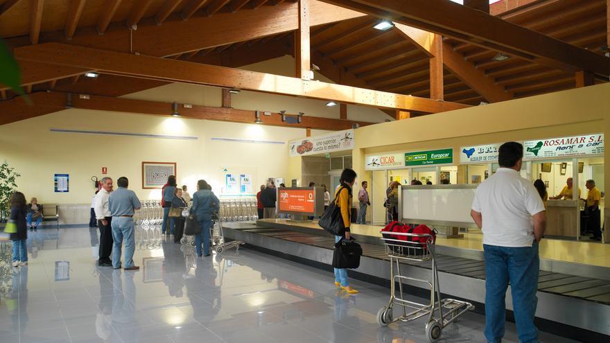 Terminal de llegadas del Aeropuerto de El Hierro
