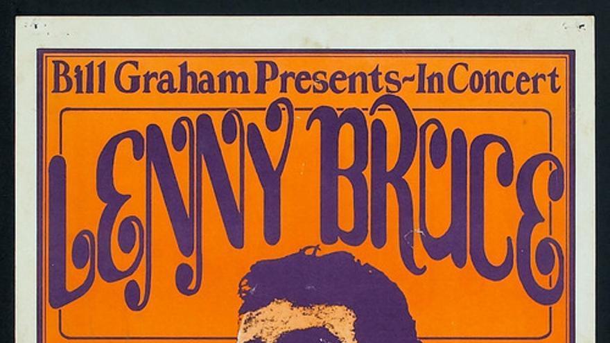 Lenny Bruce en el Fillmore (el mismo poster que aparece en la tercera temporada de Louie