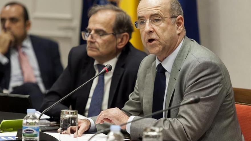 El consejero de Economía, Industria, Comercio y Conocimiento, Pedro Ortega.