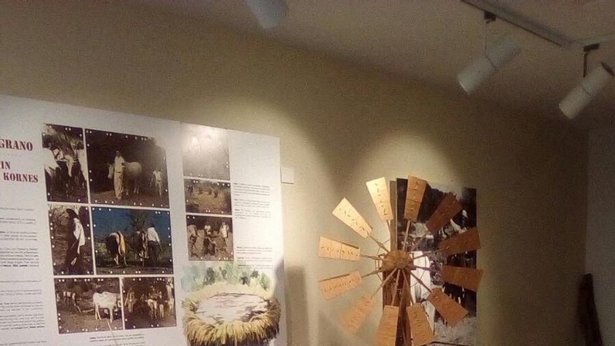 Interior del Museo de Interpretación del Gofio de Garafía.