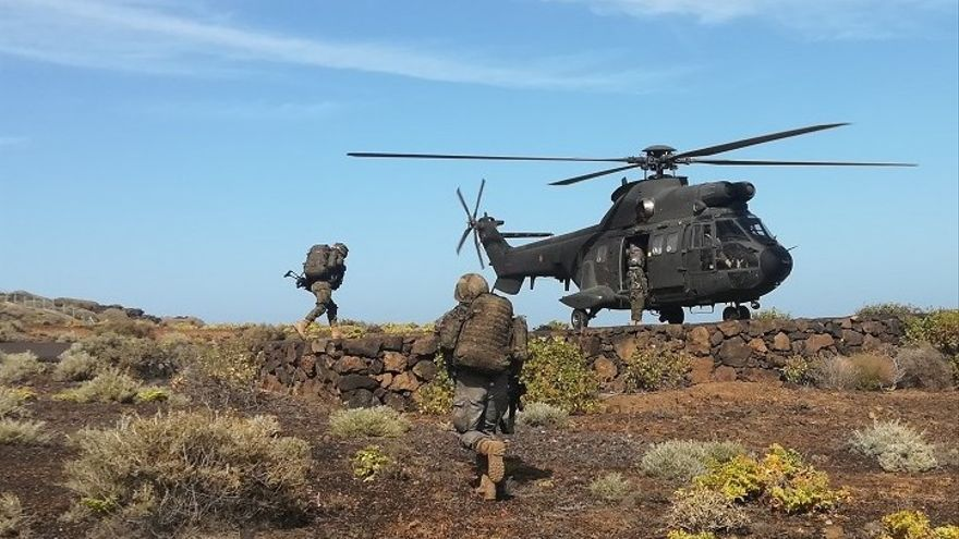 Imagen de archivo de maniobras del Ejército de Tierra.