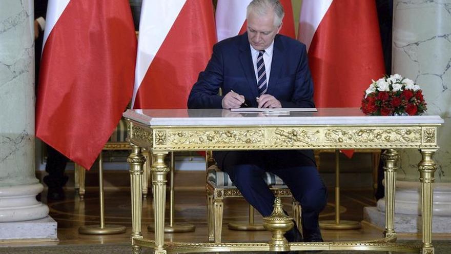 El viceprimer ministro polaco crea un partido político de centroderecha