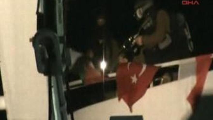 Israel ataca varios barcos humanitarios