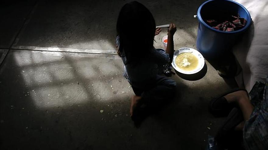 En Honduras hay un 27 por ciento de desnutrición infantil, según el PMA