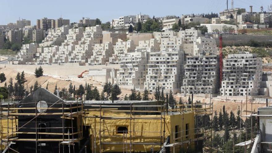 Israel aprueba un plan para levantar 652 viviendas en las colonias de Jerusalén Este