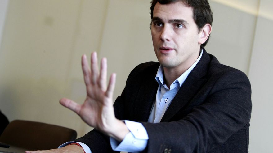 El presidente de Ciudadanos, Albert Rivera.