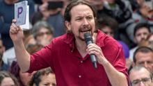 La creación de una empresa pública de energía y los derechos laborales centran el inicio de campaña de Unidas Podemos