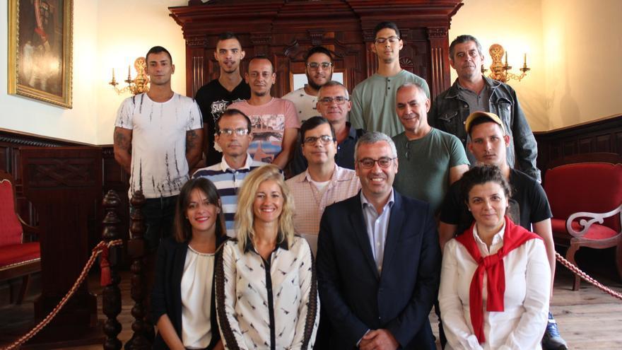 Alumnos del Curso de Formación Laboral.