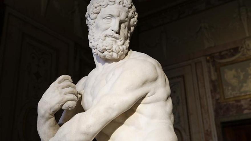 Patrimonio Nacional recupera una escultura de Hércules del siglo XVII