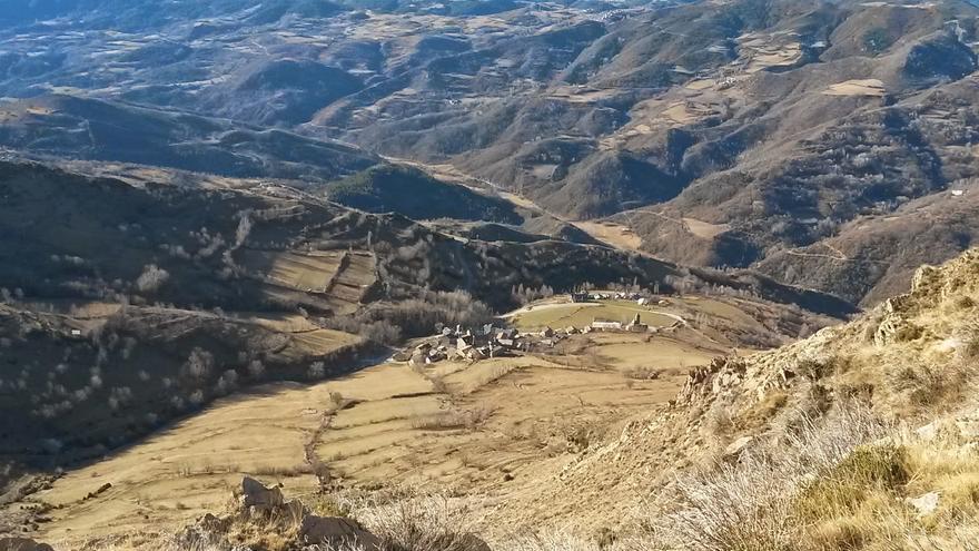 El valle de Castanesa, (Benasque, Huesca), por donde se proyecta la ampliación de la estación de esquí de Cerler
