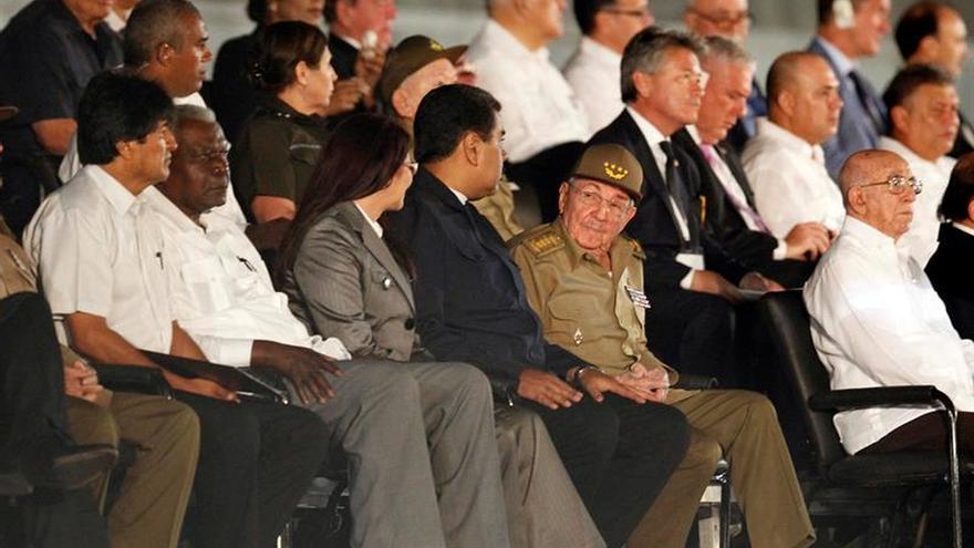Los líderes bolivarianos se proclaman herederos espirituales de Fidel