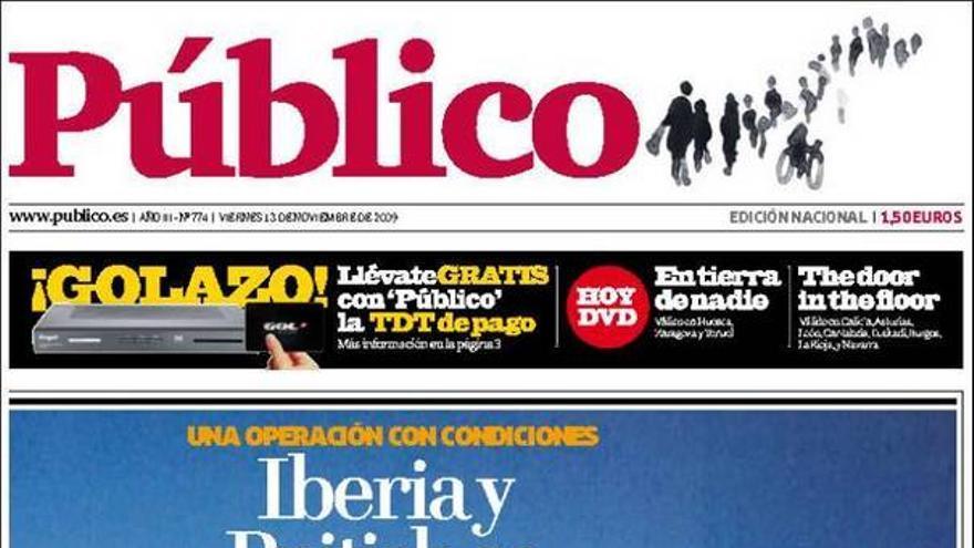 De las portadas del día (13/11/09) #10