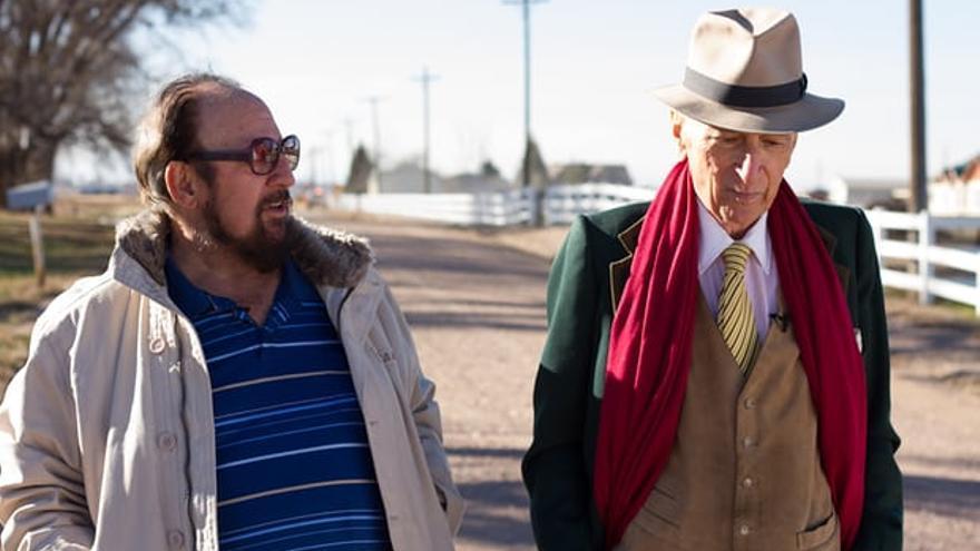 Gay Talese y Gerald Foos, el portagonista de 'El motel del voyeur'