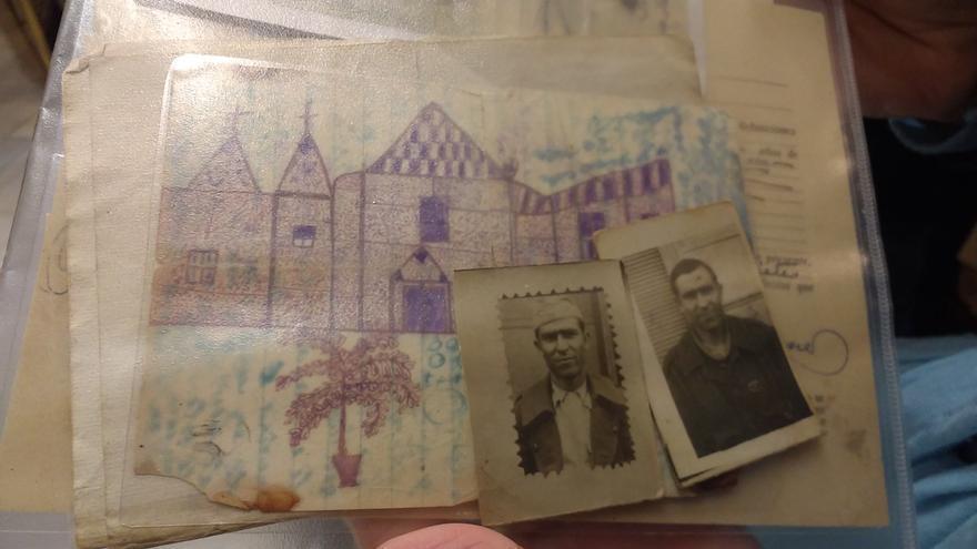 Familiares víctimas del franquismo. Cartas, fotos...