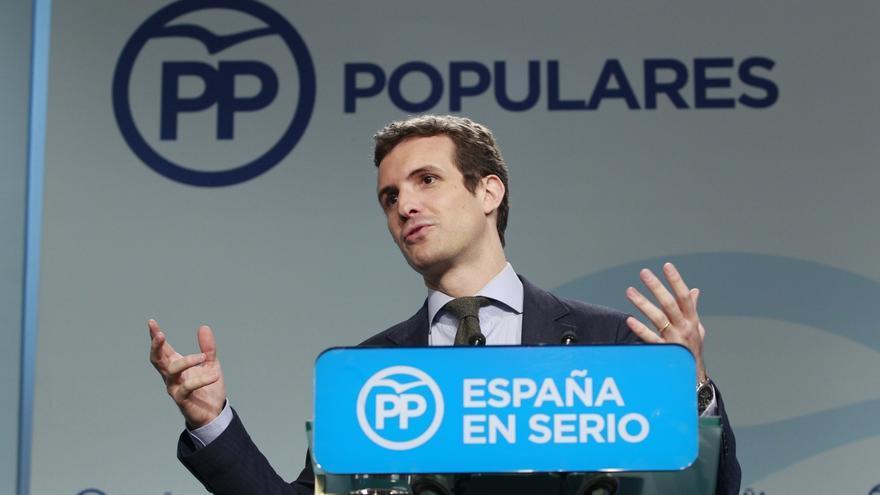 """Casado (PP) resta importancia a las críticas de Barberá a Maroto y Maillo: """"son gajes del oficio"""""""