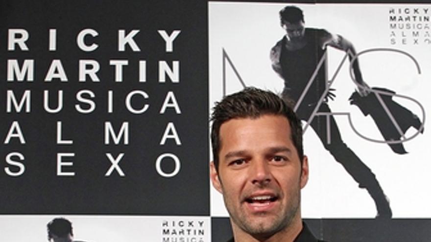 El cantante puertorriqueño Ricky Martin presenta su disco en España