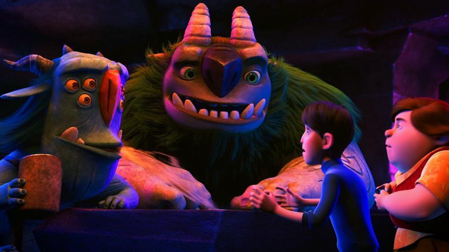Imagen de 'Trollhunters' de Netflix y Guillermo del Toro