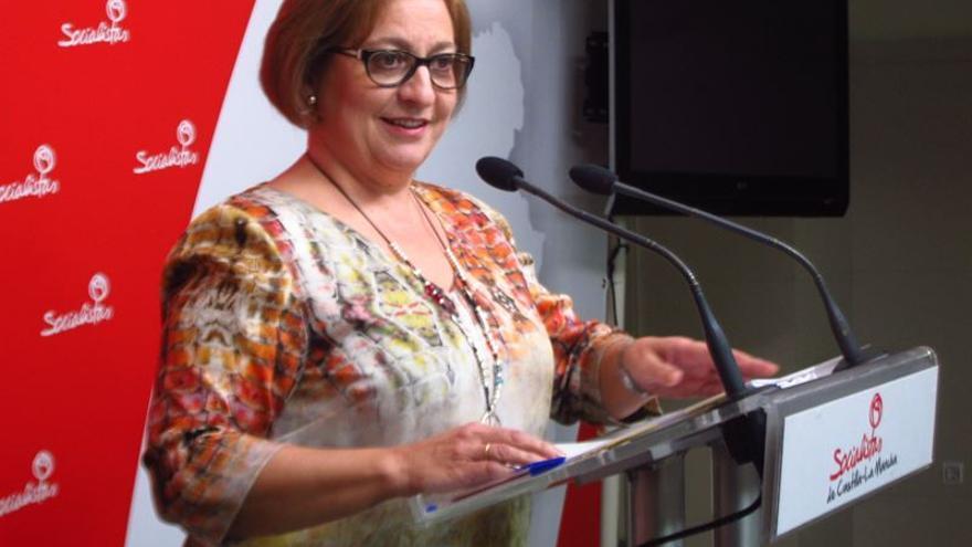 La diputada del PSOE Guadalupe Martín / EUROPA PRESS