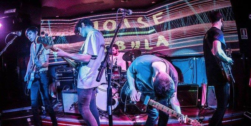 Noise Nebula, en plena actuación | NOISE NEBULA