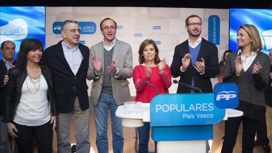 """Sáenz de Santamaría dice que """"la Guardia Civil es la principal garantía de libertad"""""""