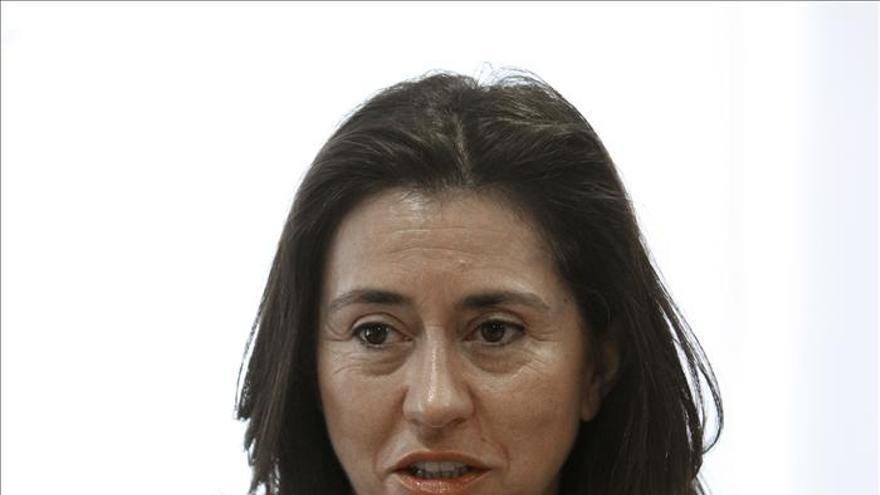 Ángeles Alarcó, presidenta y consejera delegada de Paradores. / Efe