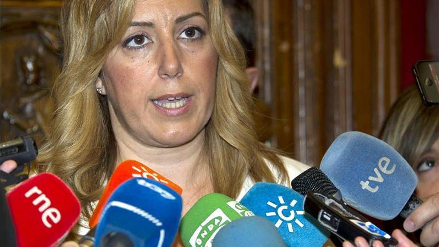 """Susana Díaz pide """"transparencia y ejemplaridad"""" a UGT"""
