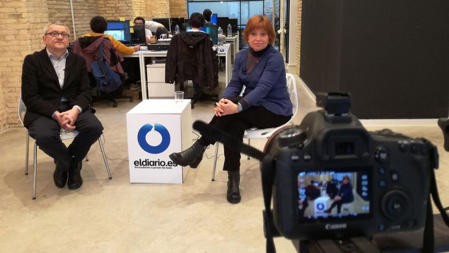 Adolf Beltran entrevista a la directora general de À punt, Empar Marco