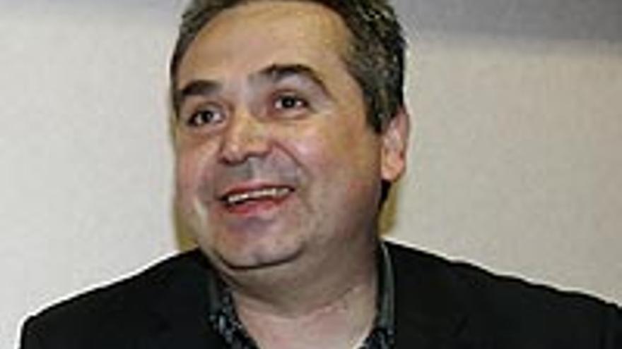 Juan Santana, el jefe de prensa de Soria.