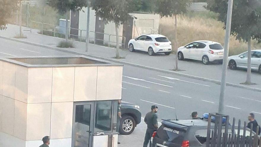La Guardia Civil entra en la sede del Centre de Telecomunicacions i Tecnologia (CTTI) de Catalunya.