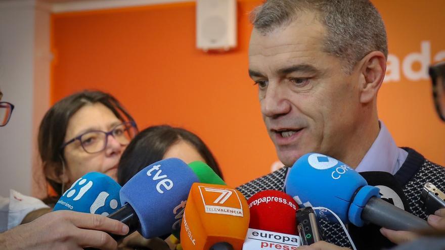Toni Cantó, candidato de Ciudadanos a la Generalitat Valenciana