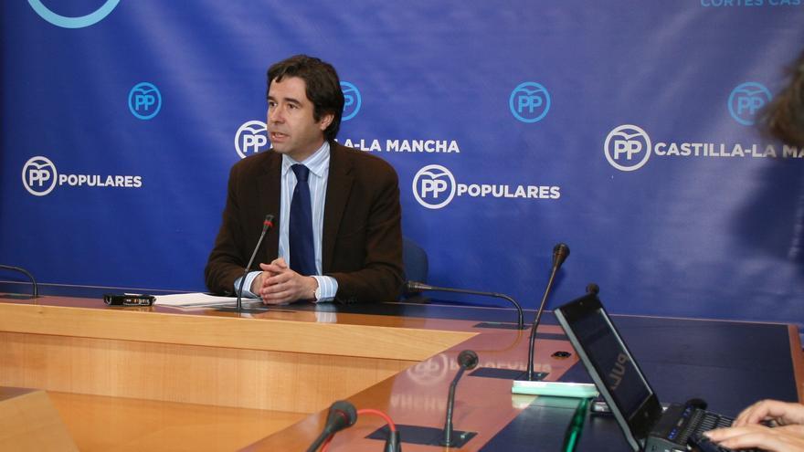Lorenzo Robisco, en rueda de prensa diciembre de 2015