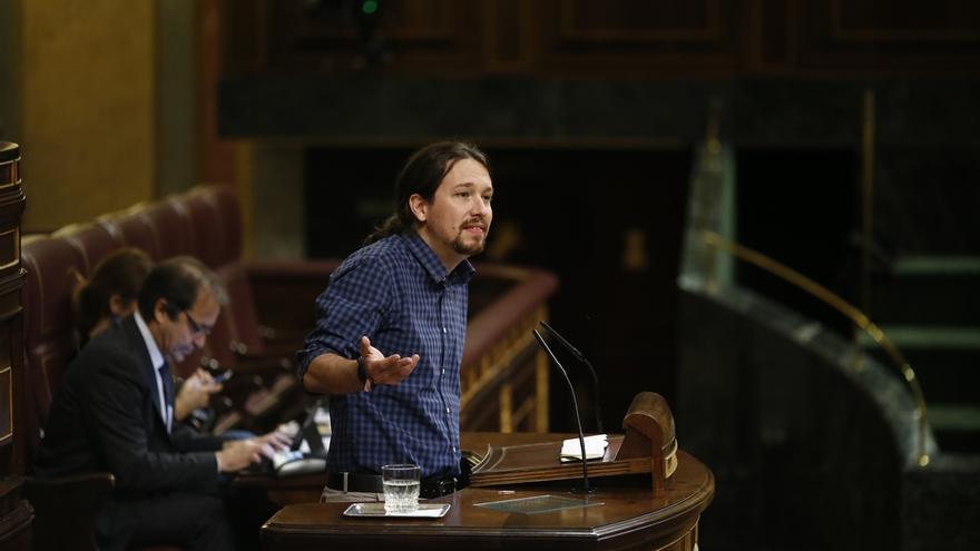 Pablo Iglesias felicita a Lenín Moreno por su victoria en las elecciones ecuatorianas